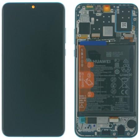 Huawei P30 Lite Display LCD Touchscreen + Rahmen, blau