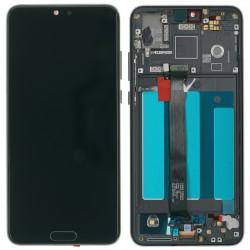 Huawei P20 Display LCD Modul + Rahmen, schwarz Online Shop - 1