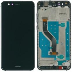 Huawei P10 Lite Display LCD Touchscreen + Rahmen, schwarz Online Shop - 1