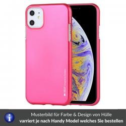 Iphone 12/ 12 Pro - Mercury i-Jelly Gel Case Hülle, Hot Pink