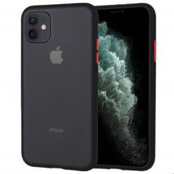 Iphone 11 Pro - Mercury Peach Garden Bumper Case, Schwarz
