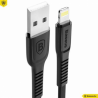 Baseus - (23cm) 2A Lightning USB Flachband Mini Ladekabel für Apple Geräte Online Shop - 1