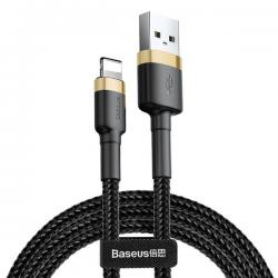 Baseus - Cafule Kabel Lightning 0.5m 2.4A, Schwarz