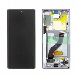 SAMSUNG GALAXY NOTE10 OBERSCHALE & LCD SILBER DISPLAY Online Shop - 1