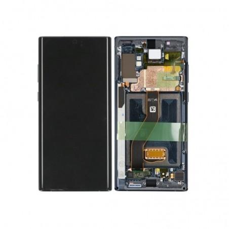 SAMSUNG GALAXY NOTE10 Plus OBERSCHALE & LCD SCHWARZ DISPLAY