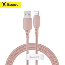 Baseus - Farbige Kabel USB zu Lightning 1.20m, Rosa