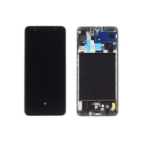 Samsung Galaxy A70 (2019) SM-A705F Display LCD Schwarz / Black