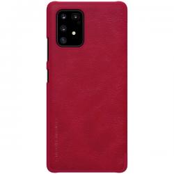 IPhone 11 - Nilkin QIN Leather Flip Hülle, Rot