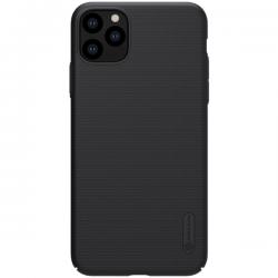 Iphone 11 Pro Max - Nilkin Super Frosted Shield Plastik Shield, Schwarz