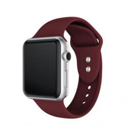 Apple Watch Silikon Armband 42/44mm, Weinrot