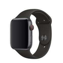 Apple Watch Silikon Armband 38/40mm, Schwarz