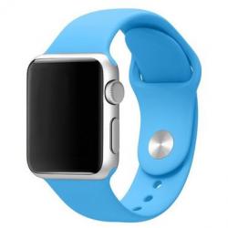 Apple Watch Silikon Armband 38/40mm, hellblau