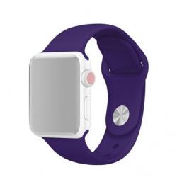 Apple Watch Silikon Armband 38/40mm, Violett