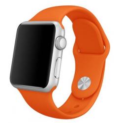 Apple Watch Silikon Armband 38/40mm, Orange