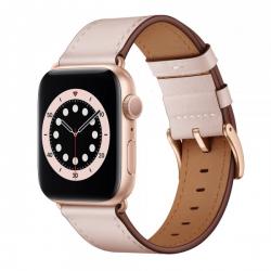 Apple Watch Leder Armband 38/40, Pink