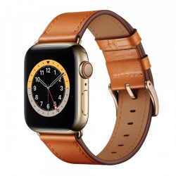 Apple Watch Leder Armband 40/42mm, Braun