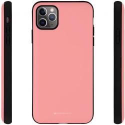 IPhone 11 Pro - Mercury Goospery Magnetic Door Bumper Hülle, Pink