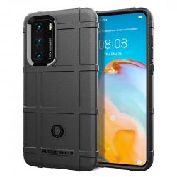 Huawei P40 Pro Full Coverage Shockproof TPU Case(Black)