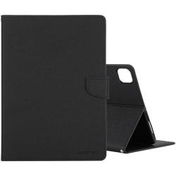 IPad Pro 11 - Goospery Fancy Diary Case, Schwarz