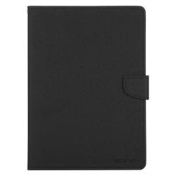 IPad 12.9 (2020) - Goospery Fancy Diary Case, Schwarz