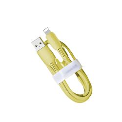 Baseus - Farbige Kabel Type C zu Lightning 1.20m, Gelb