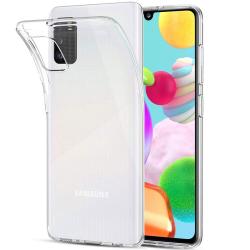 Samsung A41 - Silikonhülle, Transparent