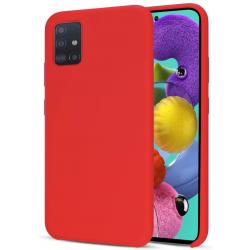Samsung Galaxy A51 - Silikonhülle, Rot