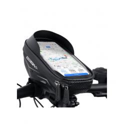 WHEEL UP Hard Shell Waterproof Bicycle Bag Handlebar Bag Touch Screen Mobile Phone Bag Mountain Bike Riding Bag