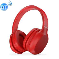 Original Lenovo HD100 Stereo Wireless Bluetooth 5.0 Headset(Red