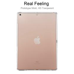 For iPad 10.2 / iPad 10.2 (2020) 3mm Transparent TPU Soft Protective Case(Transparent)