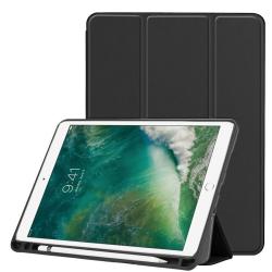 Custer Texture Horizontal for iPad Pro 10.5 Inch / iPad Air (2019), with Three-folding Holder & Pen Slot (Black