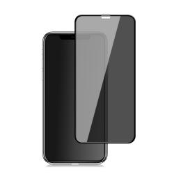 For iPhone 11 Pro Max / XS Max mocolo 0.33mm 9H 2.5D Full Glue Privacy Anti-glare Tempered Glass Film