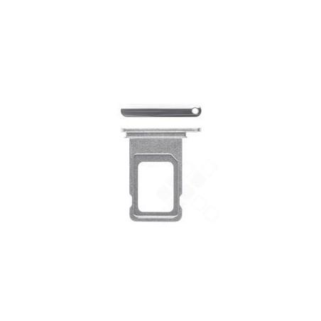 SIM Tray für Apple iPhone Xs - silver