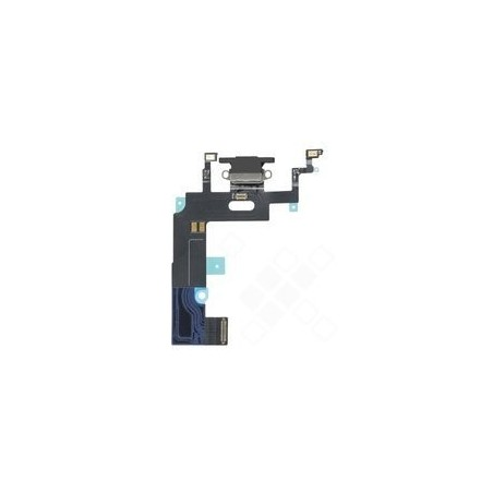 Charging Port + Flex für Apple iPhone XR - black