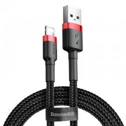 Baseus cafule Kabel USB Für IPHONE/iPad 2A 3m Rot + Schwarz Online Shop - 1