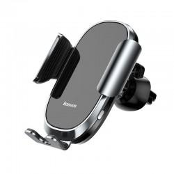 Baseus Smart Car Cell Phone Holder Universal KFZ Handy Halterung Car Mount elektrischer Halter in Silber Online Shop - 1