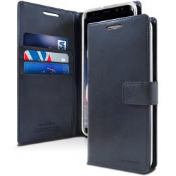 Samsung Galaxy A71 - Mercury Goospery BlueMoon Hülle / Etui / Taschen - DunkelBlau