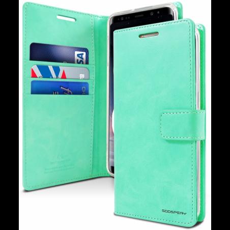 Samsung Galaxy A71 - Mercury Goospery BlueMoon Hülle / Etui / Taschen - Türkis