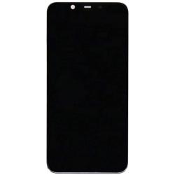 Nokia 8.1 LCD-Display, Touchscreen-Ersatz, Schwarz