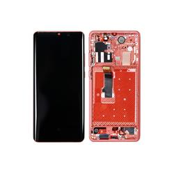 Huawei P30 Pro LCD-Display mit Rahmen, Schwarz, Touchscreen-Ersatz