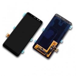 Samsung Galaxy A8 (2018) SM-A530F Display LCD + Touchscreen Ersatzdisplay schwarz/black Online Shop - 1