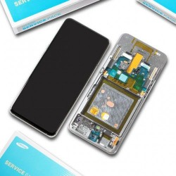 Samsung Galaxy A80 (2019) SM-A805 Display LCD + Touchscreen Ersatzdisplay schwarz/black Online Shop - 1