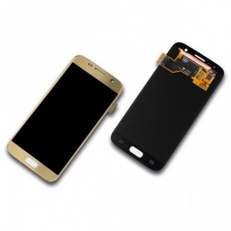 SAMSUNG GALAXY S7 SM-G930F ORIGINAL GOLD ERSATZDISPLAY, LCD, DISPLAY, ERSATZTEILE