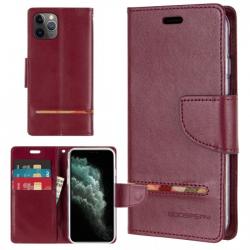 iPhone 11 Pro - Mercury Goospery Persona Diary Geldbörse Tasche / Etui - Schwarz