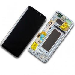 Samsung Galaxy S8 SM-G950F Display LCD + Touchscreen Ersatzdisplay Blau/Blue Online Shop - 1