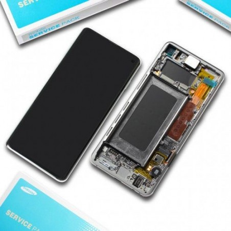 Samsung Galaxy S10 Plus SM-G975F Display LCD + Touchscreen Ersatzdisplay Schwarz/Black