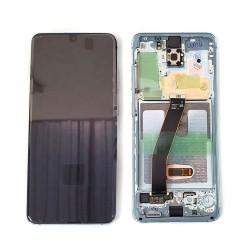 Samsung Galaxy S20 SM-G980F Display LCD + Touchscreen Ersatzdisplay Blue/Blau Online Shop - 1