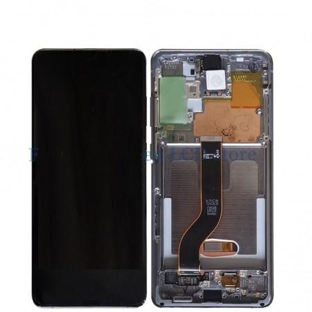 Samsung Galaxy S20 Plus 5G SM-G986 Display LCD + Touchscreen Ersatzdisplay Black/Schwarz