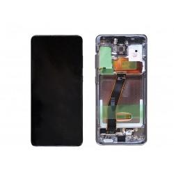Samsung Galaxy S20 SM-G980F Display LCD + Touchscreen Ersatzdisplay Grau Schwarz/Gray Online Shop - 1