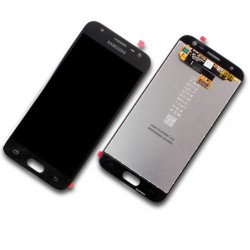 Samsung Galaxy J3 (2017) SM-J330F Display LCD + Touchscreen Ersatzdisplay Black/Schwarz Online Shop - 1